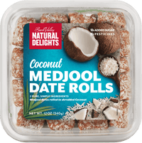 Coconut Coated Dates