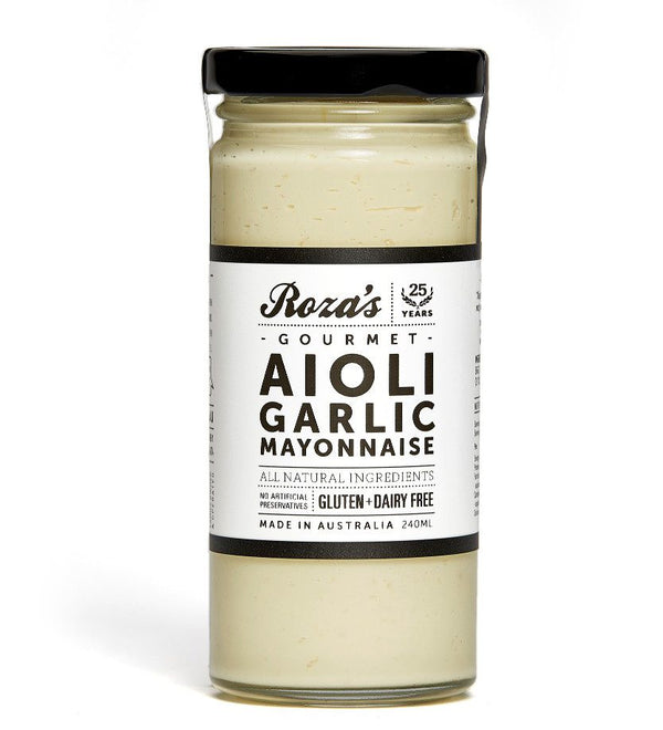 Roza's Aioli and Garlic Mayonnaise