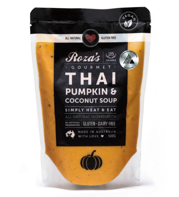Roza's Thai Pumpkin and  Coconut Soup