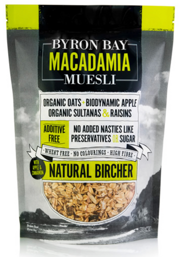 "Byron Bay Muesli ""Natural Bircher"""