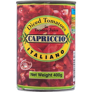 Diced Tomatoes 400g LIMIT 2 TINS