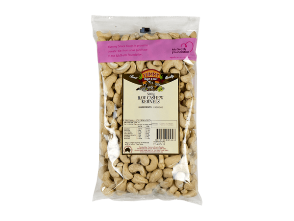 Yummy Snack Co Raw Cashews