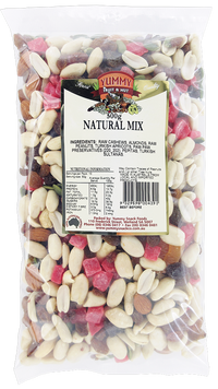 Yummy Snack Co Natural Mix 500g