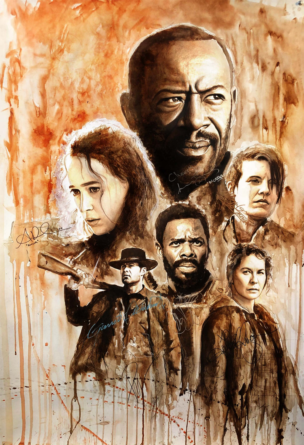 Fear the Walking Dead 13x19 Print