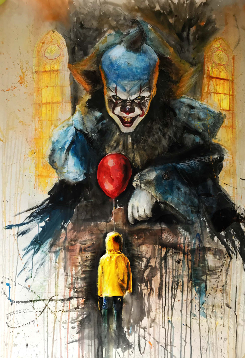 Pennywise IT 13x19 Print