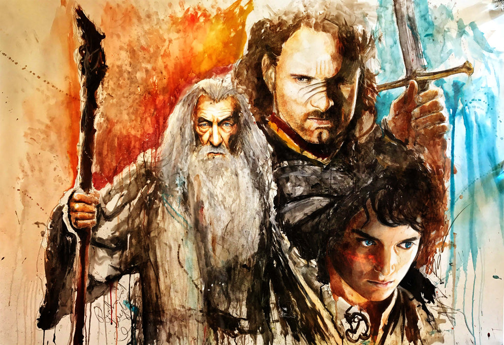 Lord of the Rings 13x19 Print