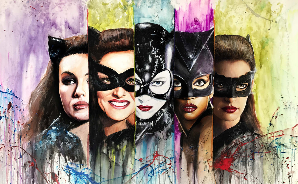 Cat Woman Series 15x24 Print