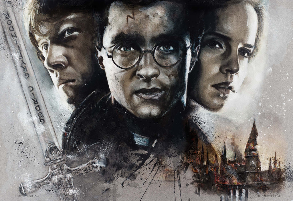 Harry Potter 13x19 Print
