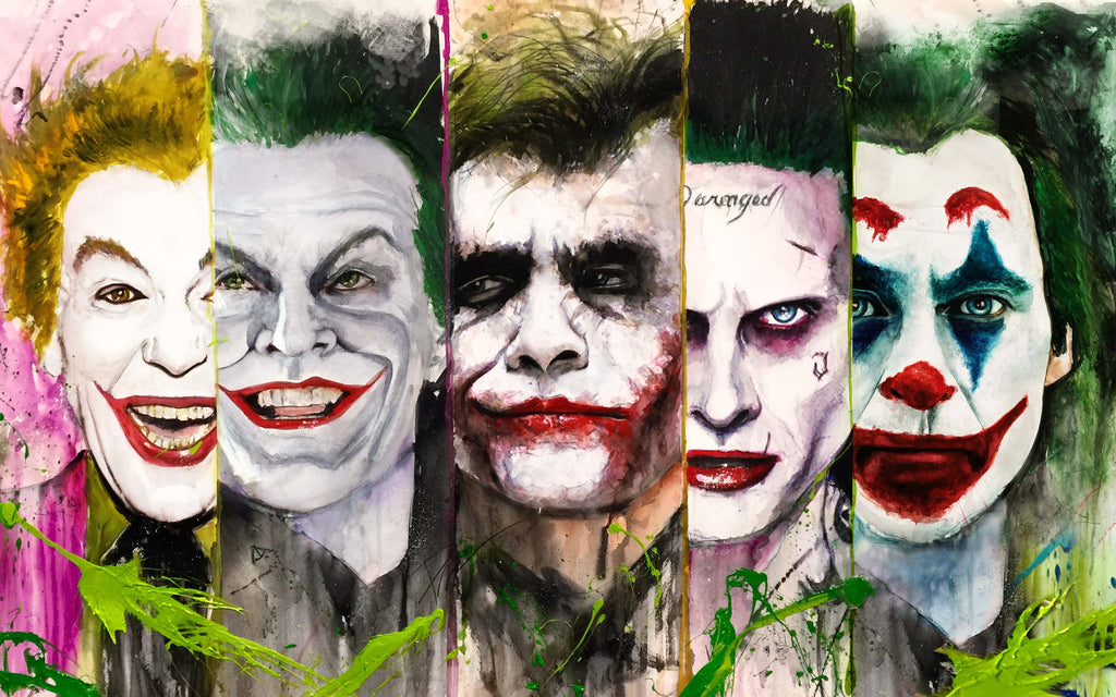 The Joker Series 15x24 Print