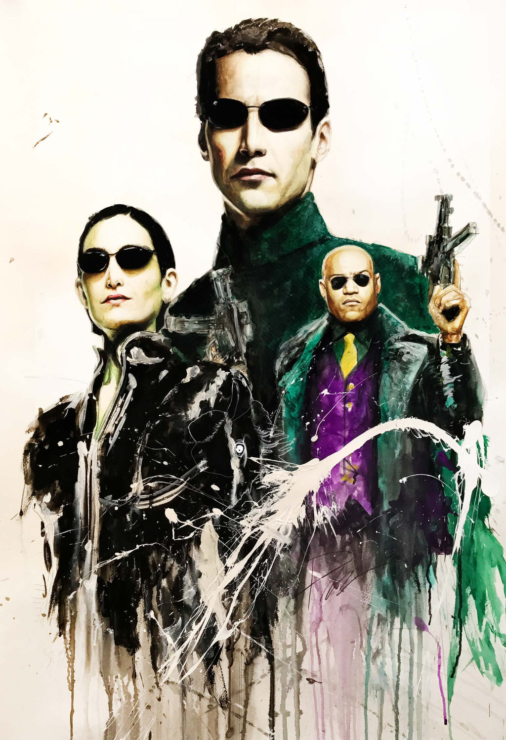 The Matrix 13x19 Print