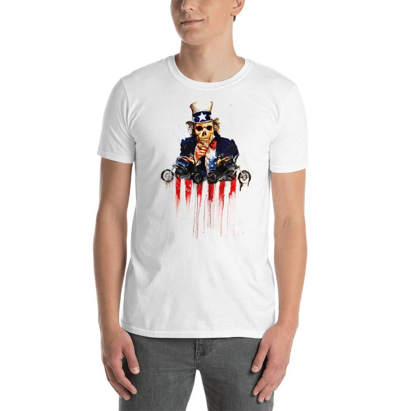 Skeleton Uncle Sam Shirt