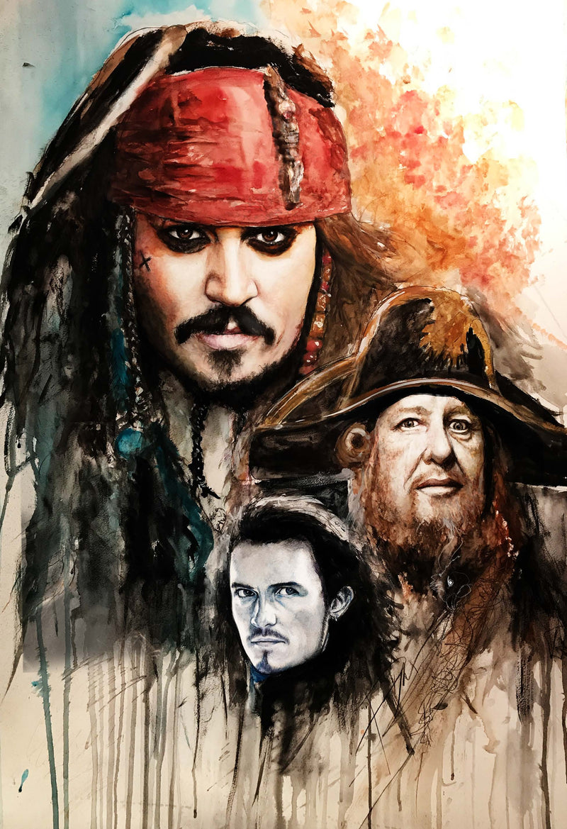 Pirates of the Caribbean 13x19 Print