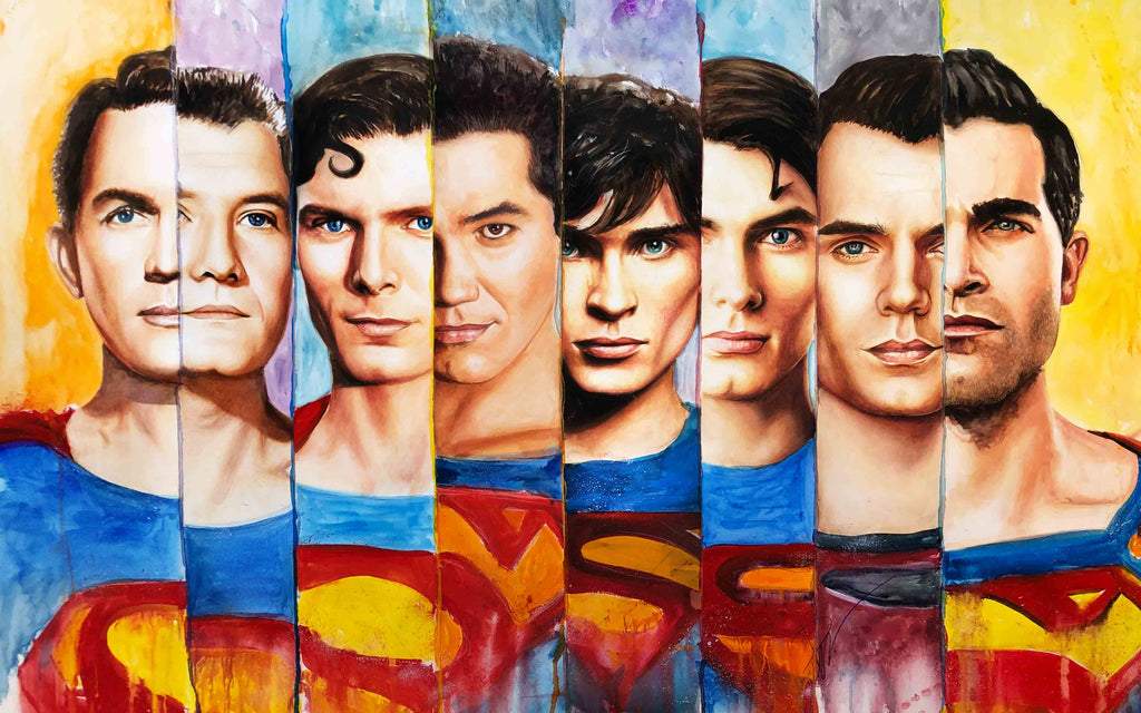 Superman Series 15x24 Print