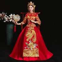 Traditional Chinese Wedding Dress and Suit - The Good Rice