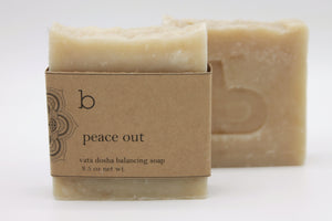 Peace Out Dosha Balancing Soap