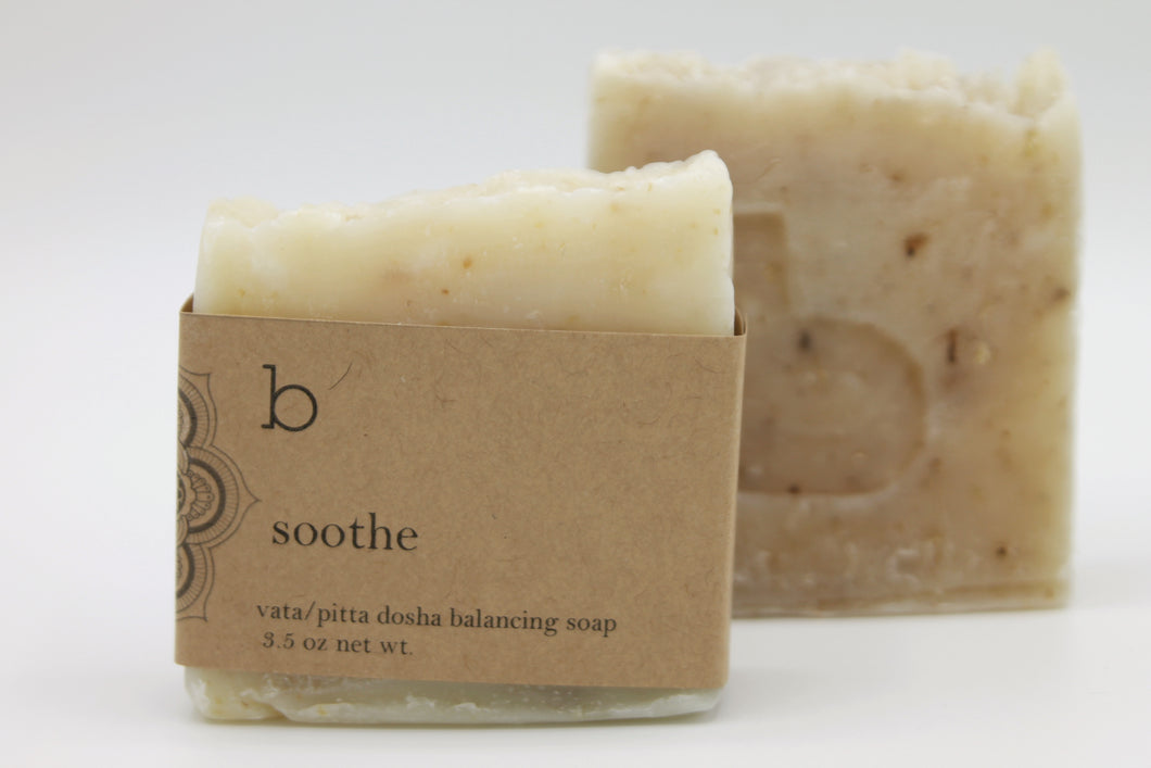 Soothe Dosha Balancing Soap with Lavender