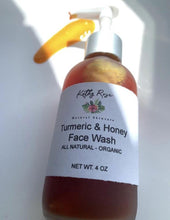 Load image into Gallery viewer, Turmeric & Honey Face Wash