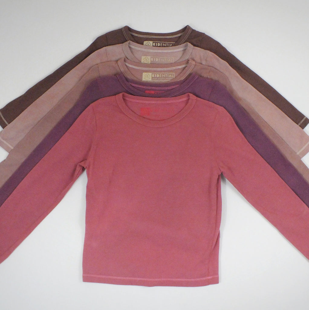 Kids Basic Long Sleeve Tee