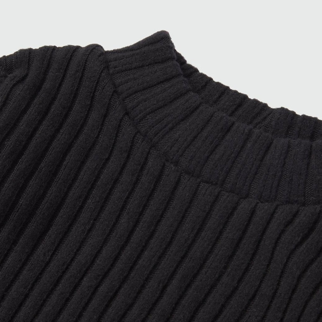 NAVI Black Luna Turtleneck Tee