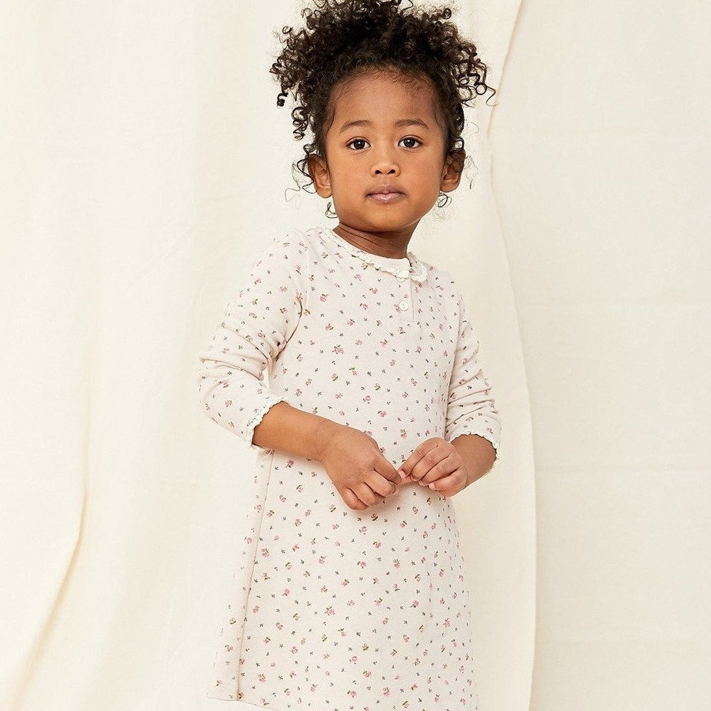 OOTT BEBE Flower Nightgown (Multiple Colors)