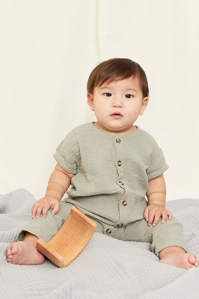 THE SIMPLE FOLK Archer Playsuit (Baby)