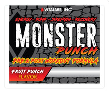 Load image into Gallery viewer, Monster Punch Pre-Workout and Recovery