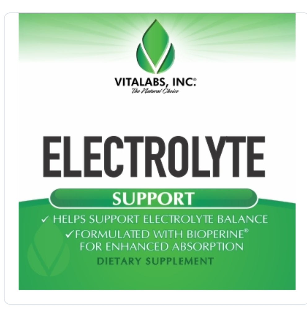 Electrolyte Support 100 Capsules