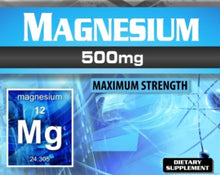 Load image into Gallery viewer, Magnesium 60 Capsules