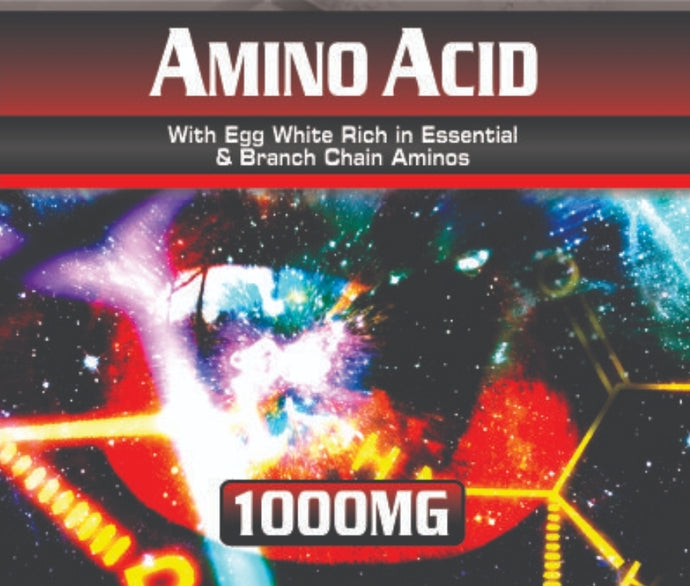 Amino Acid 1000mg 100 Tablets