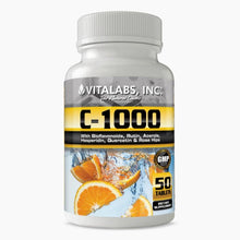 Load image into Gallery viewer, Vitamin C 1000mg 50 Tablets