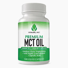 Load image into Gallery viewer, MCT Oil 120 Capsules