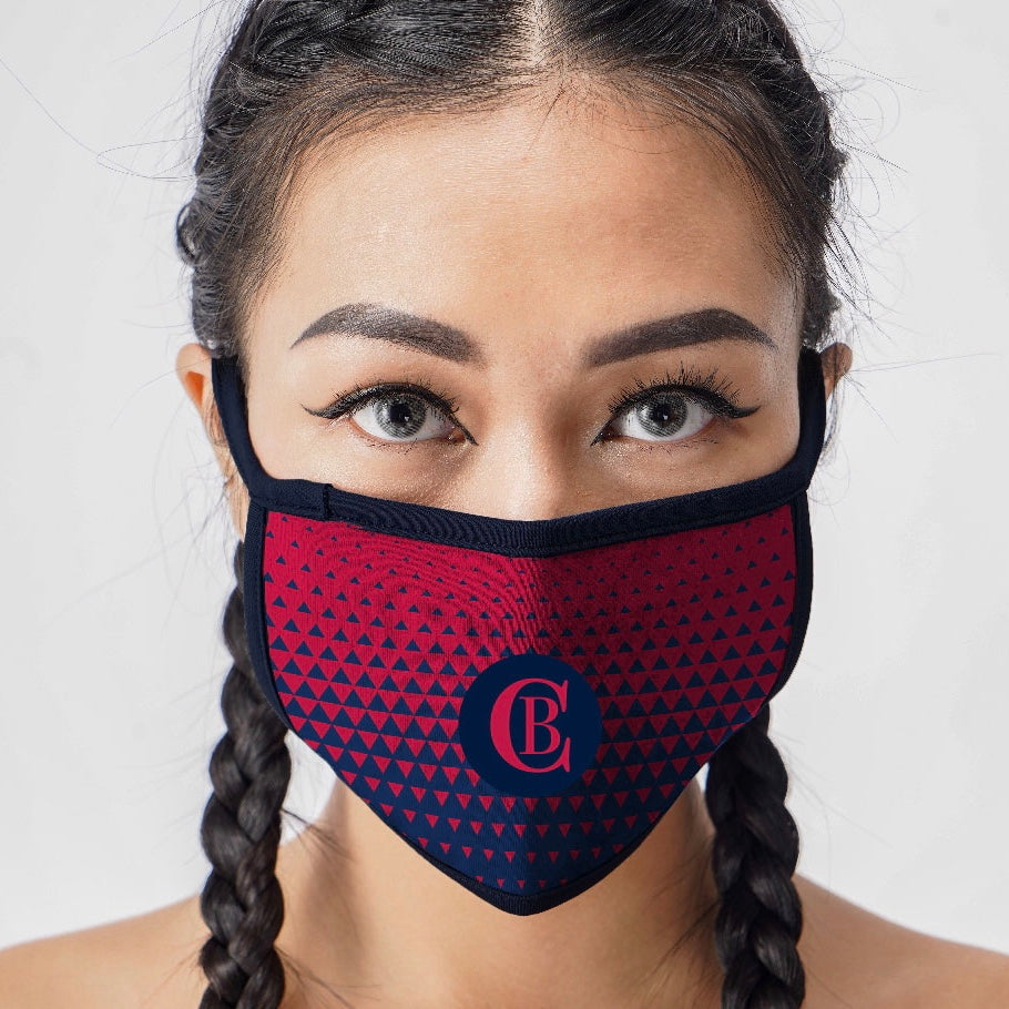 2-Ply Full Color Branded Cloth Face Mask (2,000 minimum)