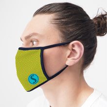 Load image into Gallery viewer, 3-Ply Full Color Branded Cloth Face Mask (2,000 minimum)