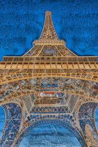 A.I. collection Eiffel Tower - Wood Print