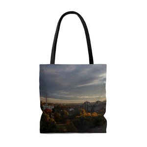 Travel Tote Bag, Reusable Shopping Bag, 100% Polyester Tote Bag, Washington DC, USA, Eco Friendly Tote Bag, Custom Photo