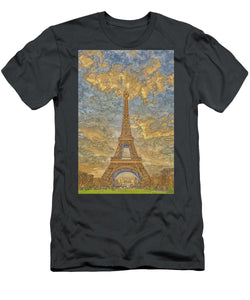 A.I. Collection Eiffel Tower Sunset - T-Shirt