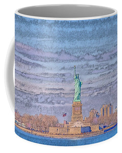A.I. Collection Liberty of Statue, NYC - Mug