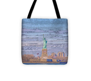 A.I. Collection Liberty of Statue, NYC - Tote Bag