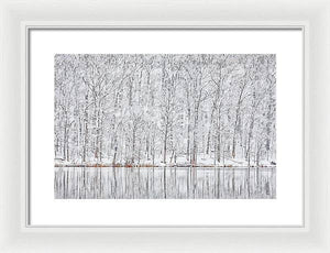A.I. Collection Winterland - Framed Print
