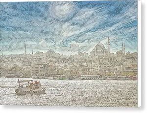 A.I. Collection Istanbul - Canvas Print