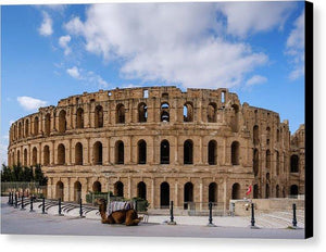 El Jem, Tunisia - Canvas Print - elee photo arts