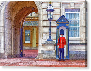 A.I. Collection Queen's Guard - Canvas Print