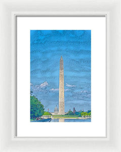 Washington Dc - Framed Print