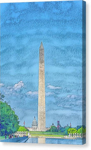 A.I. Collection Washington Monument - Canvas Print