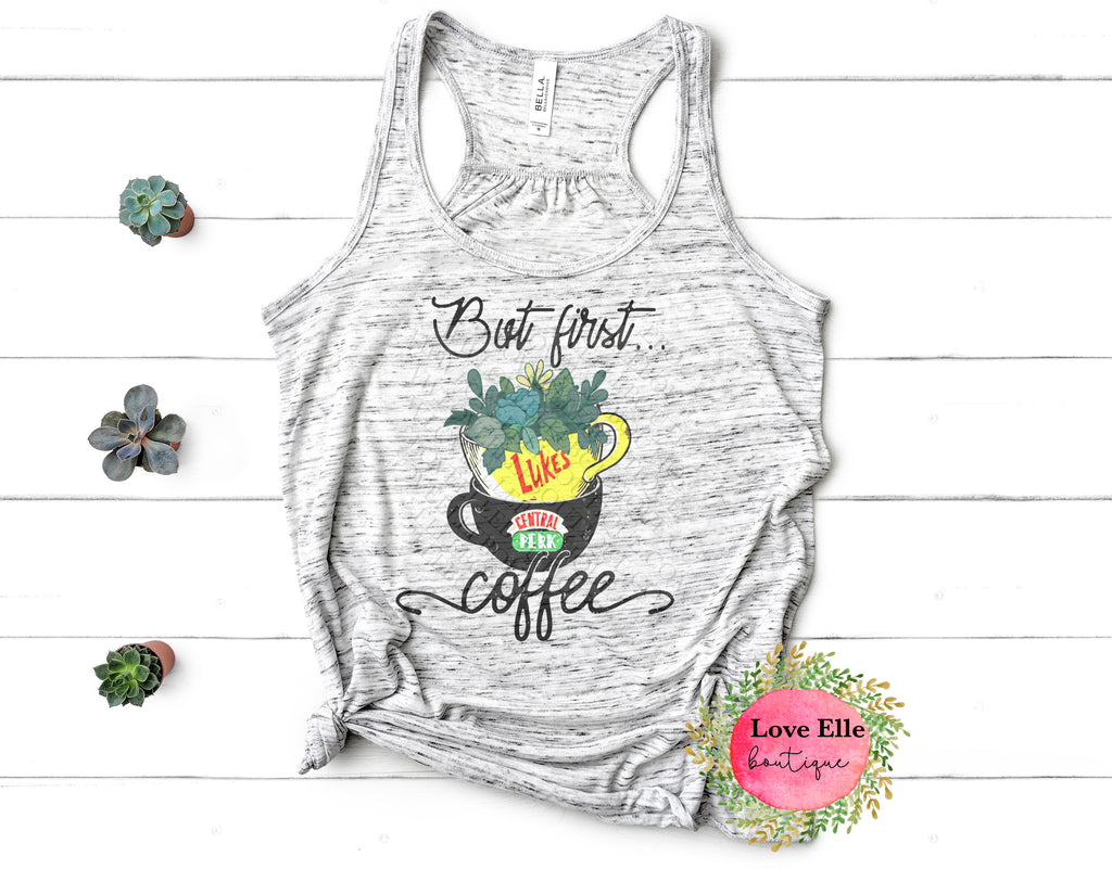 But First Coffee Mash Up Tank