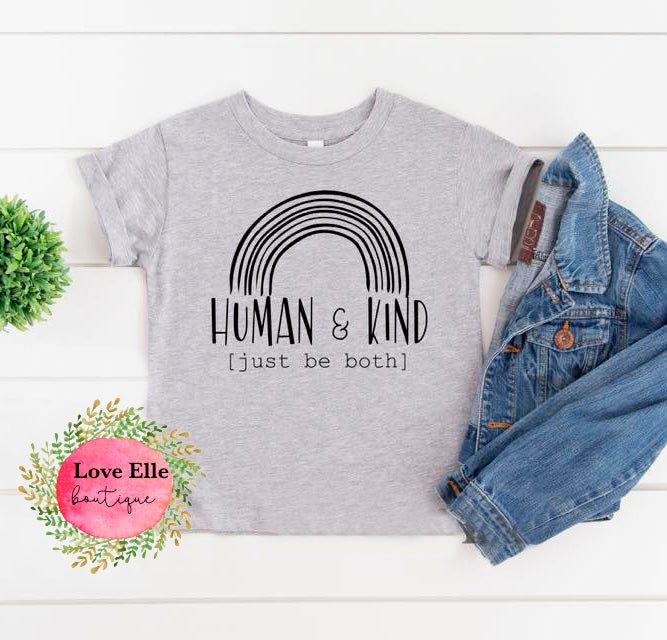 Human & Kind Children's Shirt