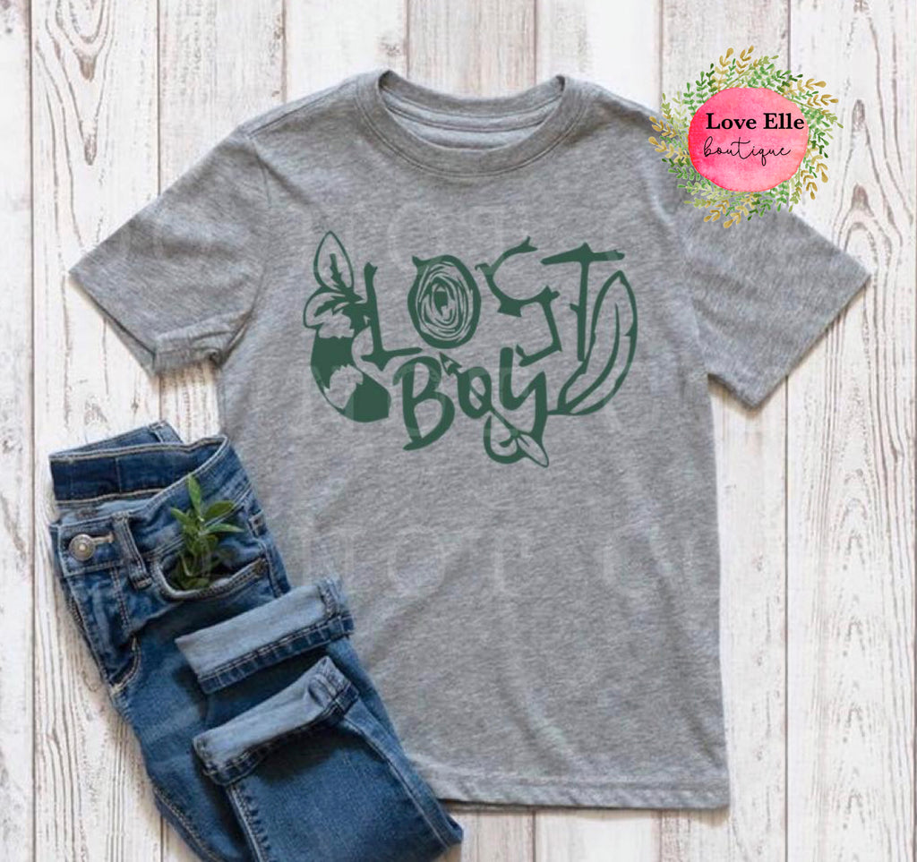 Lost Boy Toddler Shirt