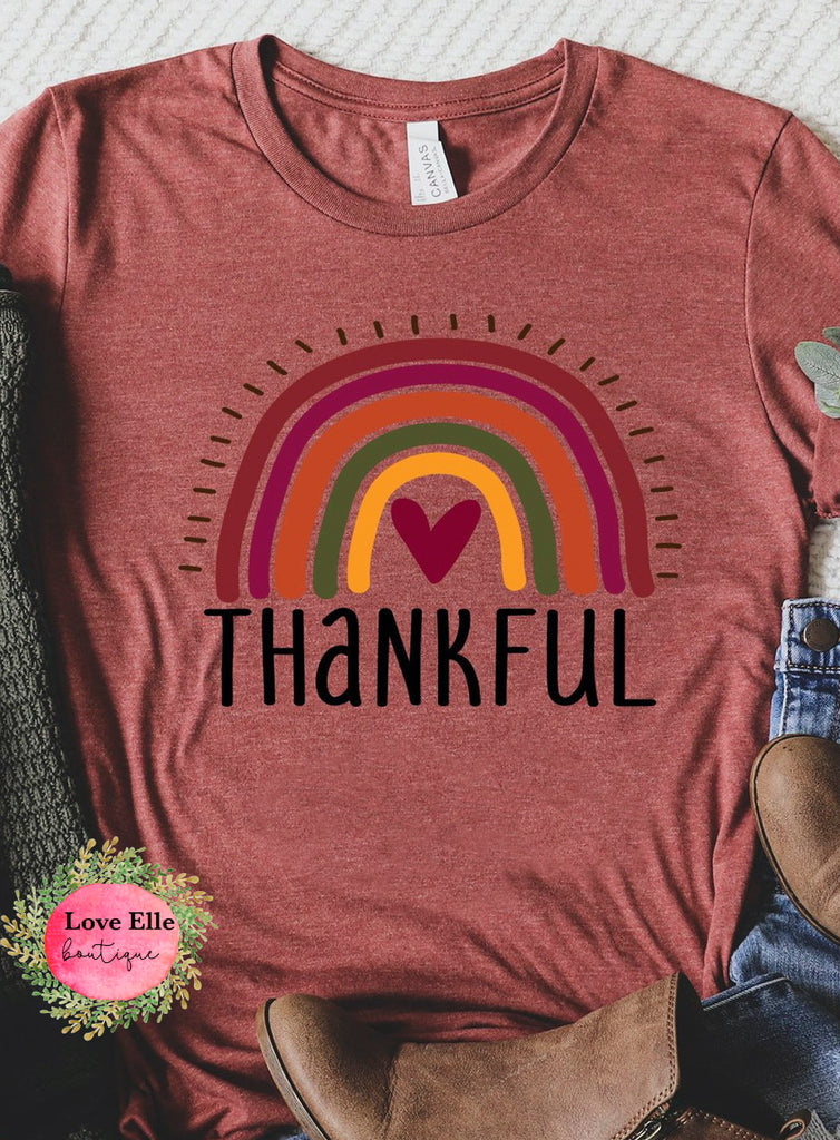 Thankful Rainbow Shirt