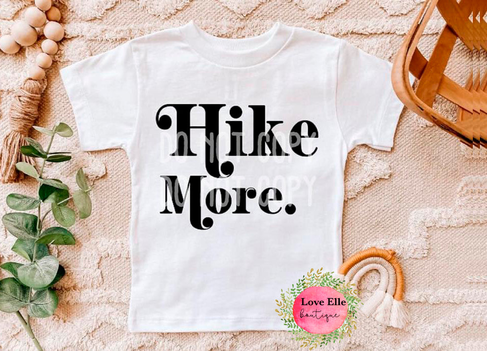 Hike More Children's Shirt