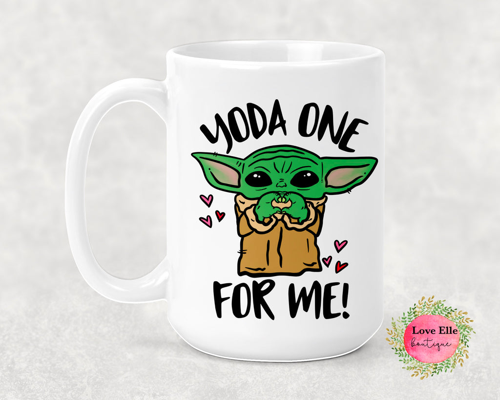 Yoda Only One For Me Mug/Tumbler
